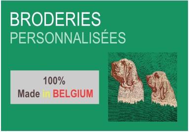 Broderies personnalisées Belgique